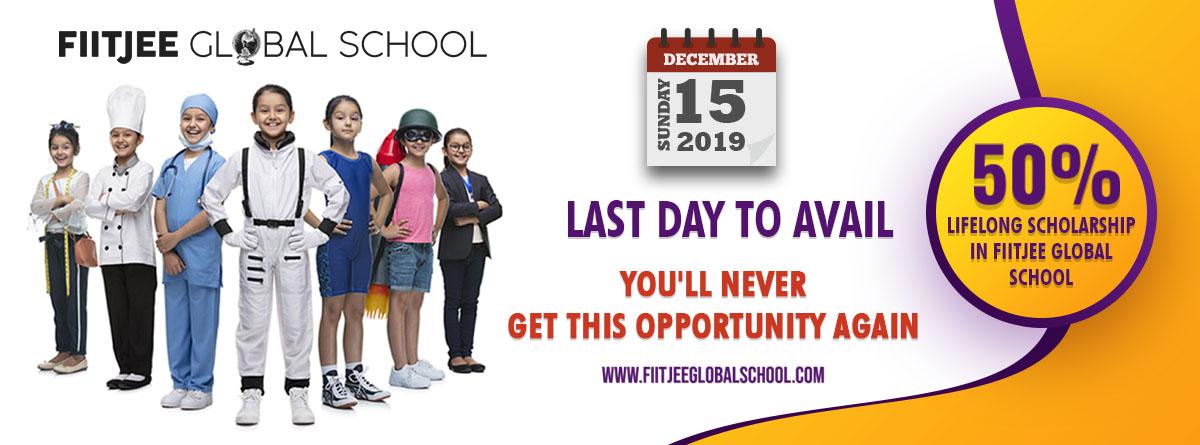 FIITJEE Global School Admission Offer